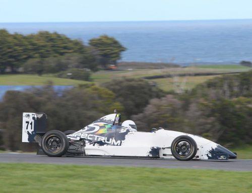 Zsidy Enjoys Formula 3 Outing in Spectrum F2000 Car