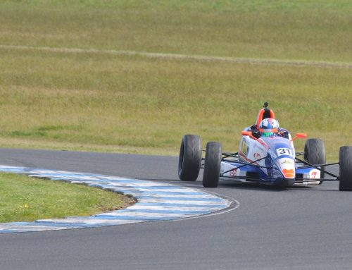 Ojeda Secures Australian Formula Ford Series Top Three